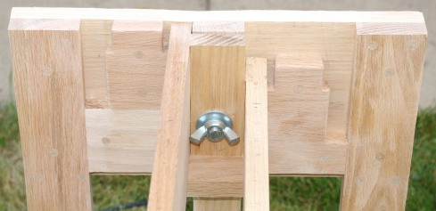 small end section frame detail