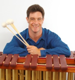 Jim McCarthy With DIY Marimba mallets