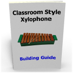 Making orff xylophones DIY diatonic