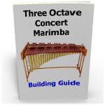 Making Marimbas three octave DIY concert marimba chromatic