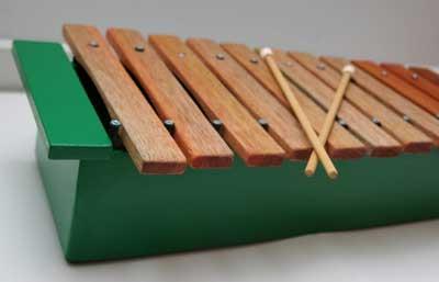 build wood xylophone