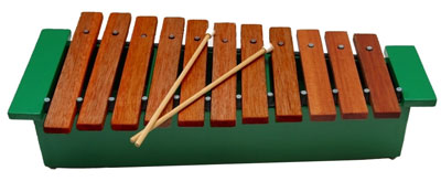 instructions on how to build a wooden xylophone
