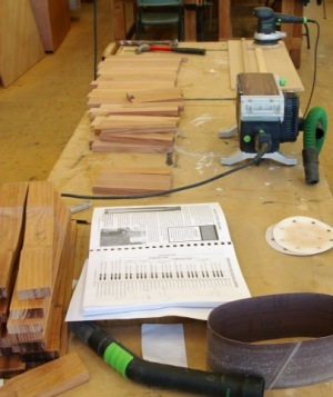 making marimba bars