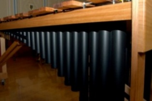 Custom DIY marimba built for a school