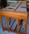 3 octave DIY marimba design with decorative woodwork