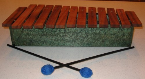 how to make a diy xylophone
