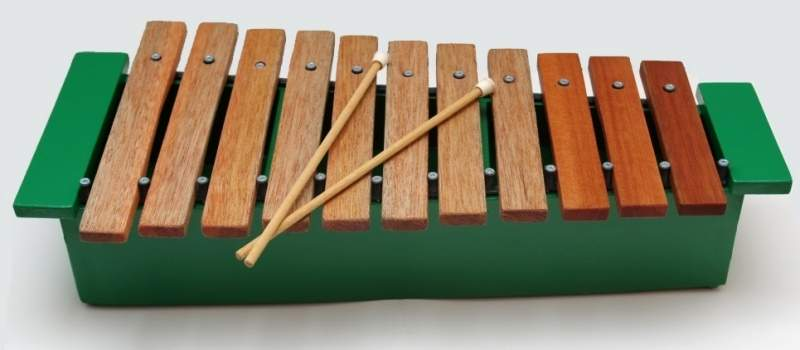 11 note box resonated xylophone